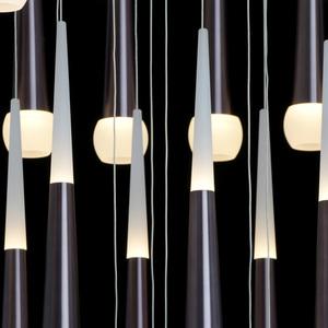 Lampa suspendată Flensburg Hi-Tech 230 Maro - 609014036 small 14