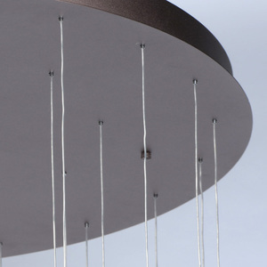 Lampa suspendată Flensburg Hi-Tech 230 Maro - 609014036 small 4