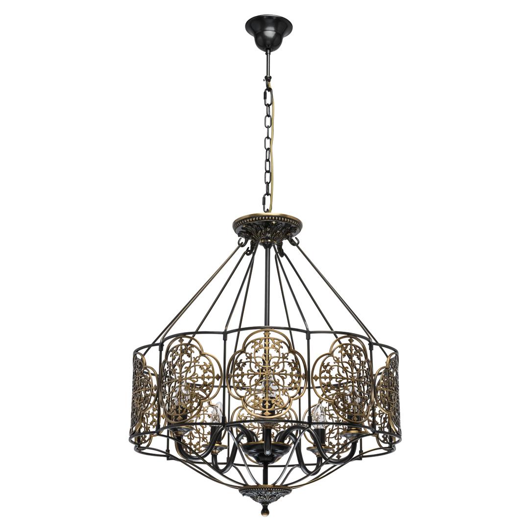 Lampa suspendată Country 5 Brass - 109010105