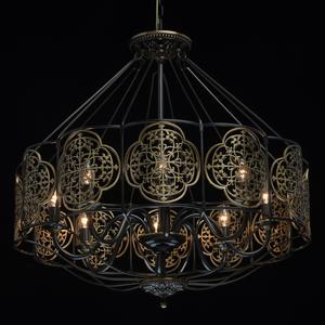 Lampa suspendată Country 8 Brass - 109010208 small 1