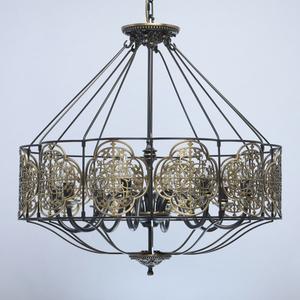 Lampa suspendată Country 8 Brass - 109010208 small 6