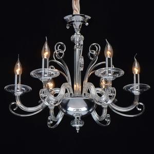 Lampa suspendată Ella Elegance 6 Chrome - 483013306 small 1