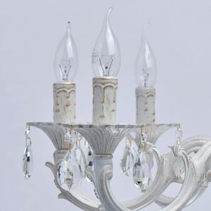 Lampa suspendată Aurora Classic 8 Alb - 371015008 small 6