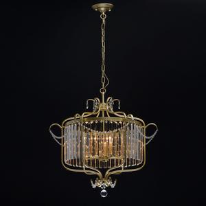 Lampa suspendată Adele Crystal 6 Gold - 373014806 small 1