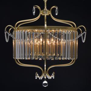 Lampa suspendată Adele Crystal 6 Gold - 373014806 small 5