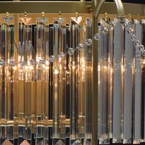 Lampa suspendată Adele Crystal 6 Gold - 373014806 small 7
