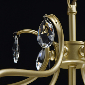 Lampa suspendată Adele Crystal 6 Gold - 373014806 small 10