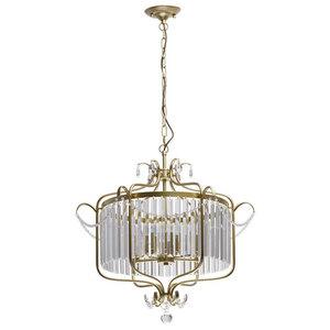 Lampa suspendată Adele Crystal 6 Gold - 373014806 small 0