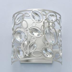 Lampă de perete Laura Crystal 2 Silver - 345022702 small 3