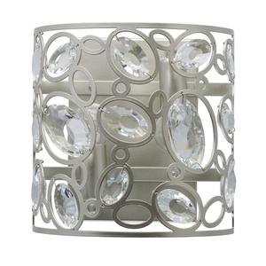 Lampă de perete Laura Crystal 2 Silver - 345022702 small 0