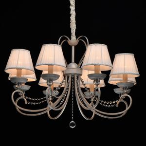 Lampa suspendată Augustina Elegance 8 Alb - 419011708 small 1