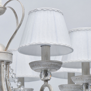 Lampa suspendată Augustina Elegance 8 Alb - 419011708 small 7