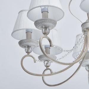 Lampa suspendată Augustina Elegance 8 Alb - 419011708 small 11
