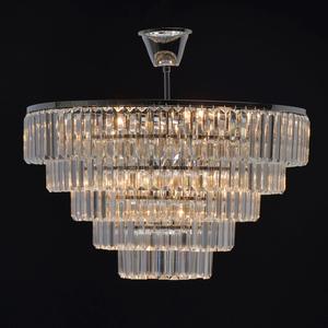 Adelard Crystal 8 Candelabru Chrome - 642013008 small 3