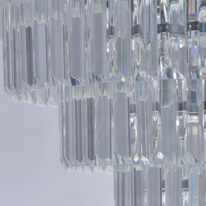 Adelard Crystal 8 Candelabru Chrome - 642013008 small 4