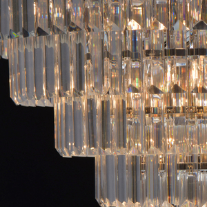 Adelard Crystal 8 Candelabru Chrome - 642013008 small 5
