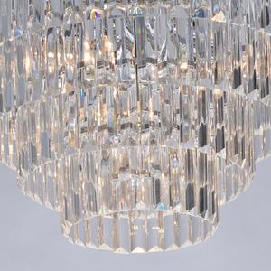 Adelard Crystal 8 Candelabru Chrome - 642013008 small 6