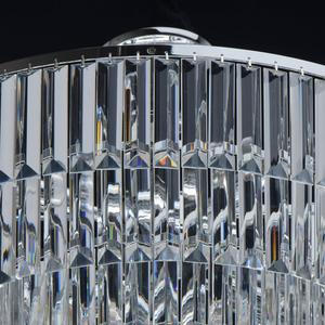 Adelard Crystal 8 Candelabru Chrome - 642013008 small 7