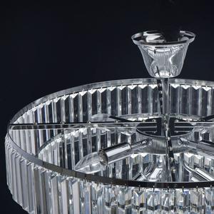Adelard Crystal 8 Candelabru Chrome - 642013008 small 8