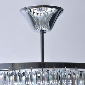 Adelard Crystal 8 Candelabru Chrome - 642013008 small 2