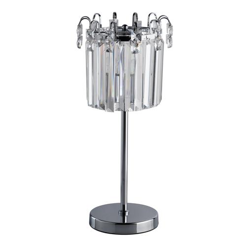 Lampa de masă Adelard Crystal 1 Chrome - 642033101