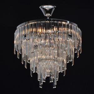 Lampă cu pandantiv Adelard Crystal 5 Chrome - 642013305 small 1