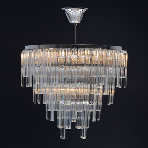 Lampă cu pandantiv Adelard Crystal 5 Chrome - 642013305 small 4