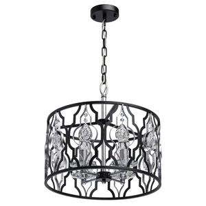 Lampa suspendată Alghero Country 4 Black - 285011804 small 0