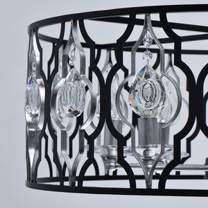 Lampa suspendată Alghero Country 8 Black - 285011908 small 11