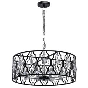 Lampa suspendată Alghero Country 8 Black - 285011908 small 0