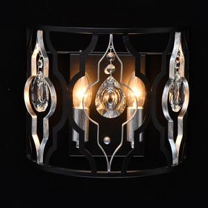 Lampă de perete Alghero Country 2 Black - 285022002 small 1