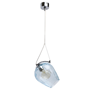 Lampa suspendată Bremen Megapolis 1 Chrome - 606010801 small 0
