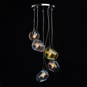 Lampa suspendată Bremen Megapolis 5 Chrome - 606010905 small 1