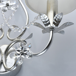 Lampa de perete Valencia Elegance 2 Silver - 299022102 small 4