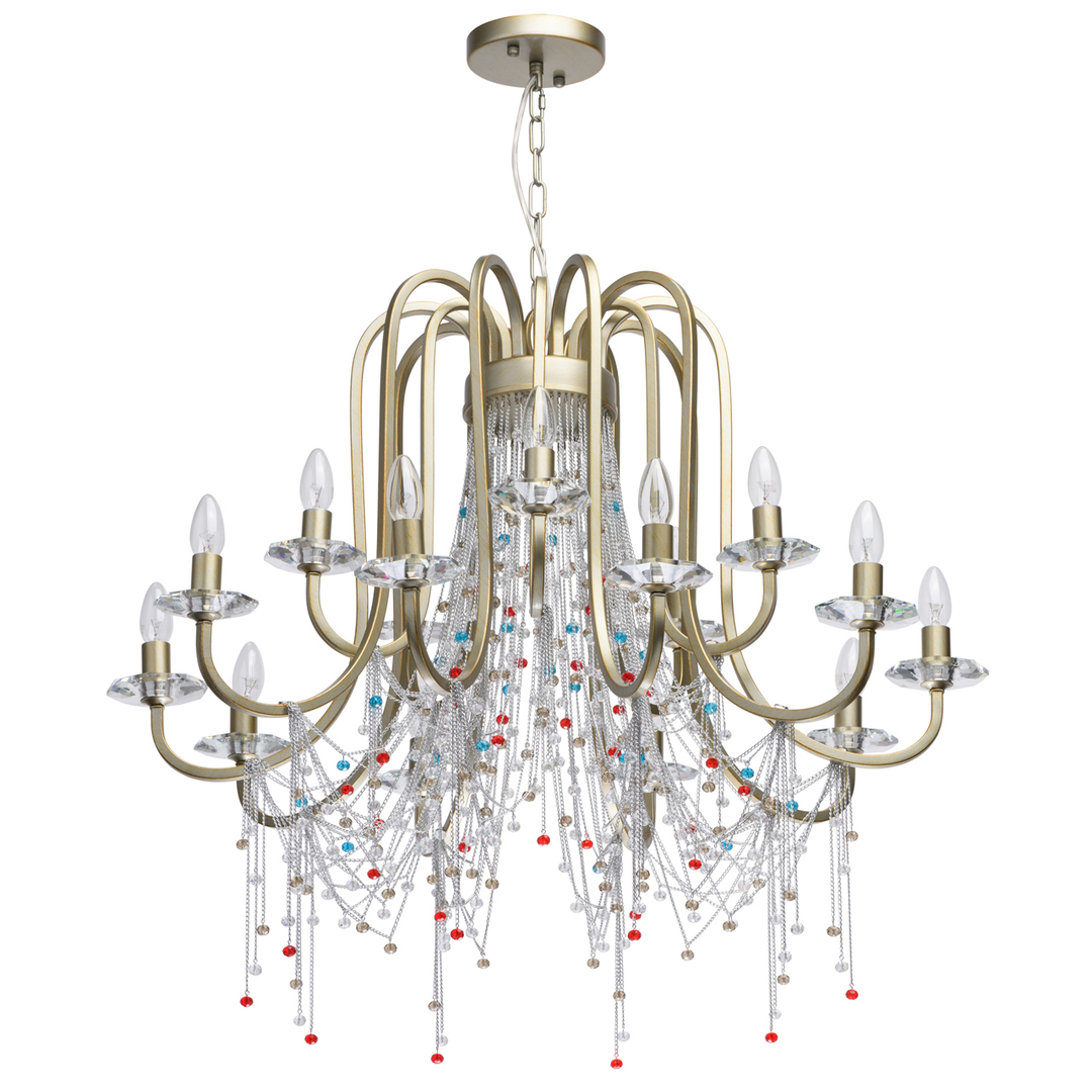 Lampa suspendată Valencia Classic 15 Gold - 299011715