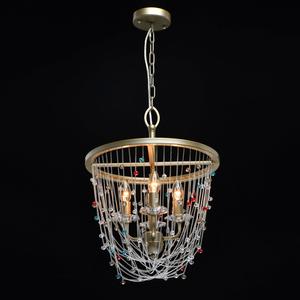 Lampa cu pandantiv Valencia Classic 4 Gold - 299012004 small 1