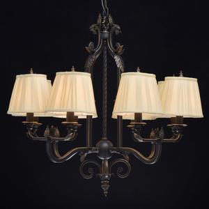 Lampa suspendată Victoria Country 8 Black - 401010908 small 1