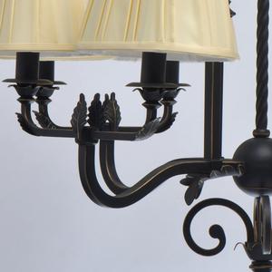 Lampa suspendată Victoria Country 8 Black - 401010908 small 13