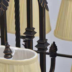 Lampa suspendată Victoria Country 8 Black - 401010908 small 2