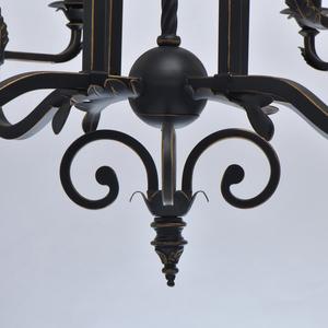 Lampa suspendată Victoria Country 8 Black - 401010908 small 3
