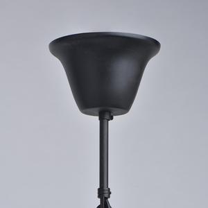 Lampa suspendată Victoria Country 8 Black - 401010908 small 5