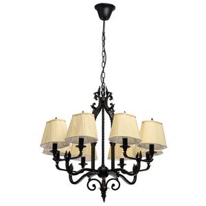 Lampa suspendată Victoria Country 8 Black - 401010908 small 0