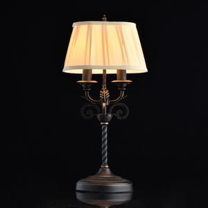 Lampa de masă Victoria Country 2 Negru - 401030702 small 1