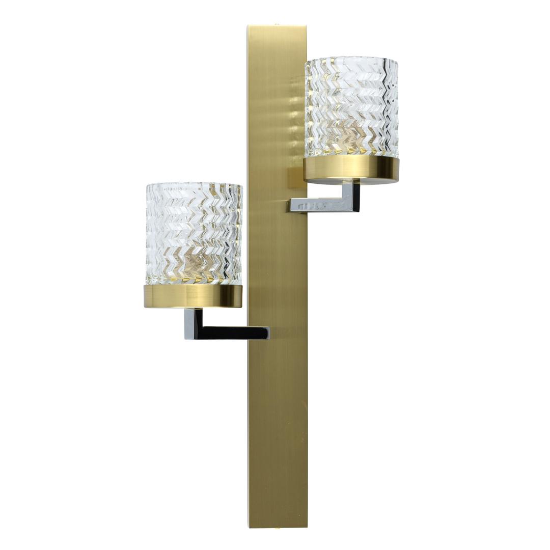Lampă de perete Hamburg Megapolis 2 Brass - 605022002