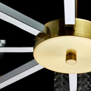 Lampa suspendată Hamburg Megapolis 8 Brass - 605011708 small 11