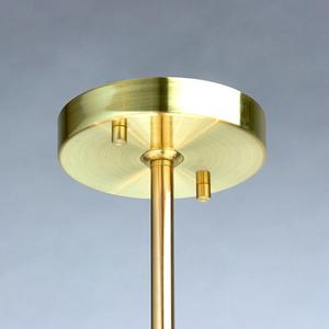 Lampa suspendată Hamburg Megapolis 8 Brass - 605011708 small 2