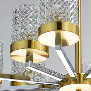 Lampa suspendată Hamburg Megapolis 12 Brass - 605011912 small 5