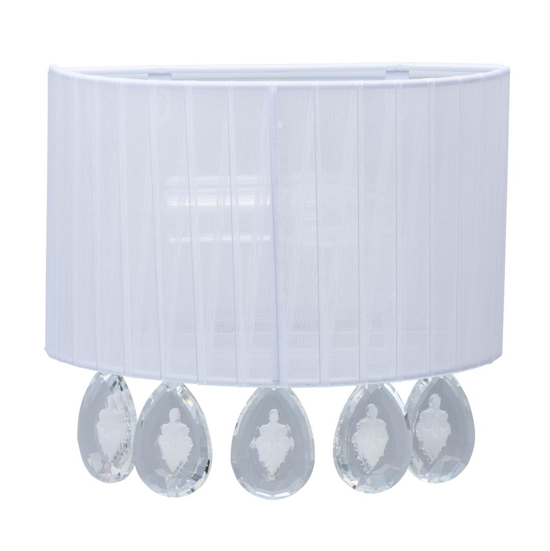 Lampa de perete Jacqueline Elegance 1 Alb - 465025801