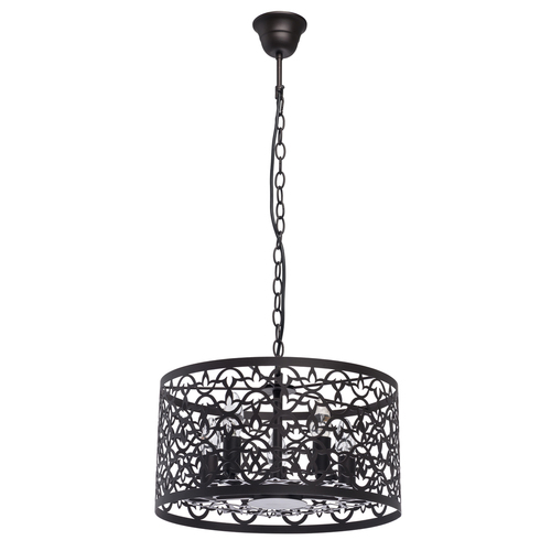 Lampa suspendată Castle Country 5 Brown - 249018005