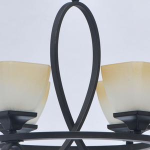 Lampa suspendată Castle Country 4 Black - 249018304 small 8